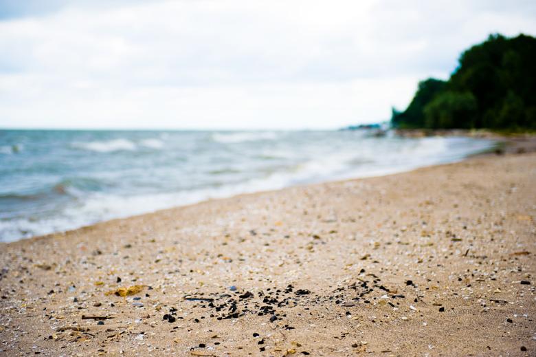 Lake Erie Beach in Huron,OH