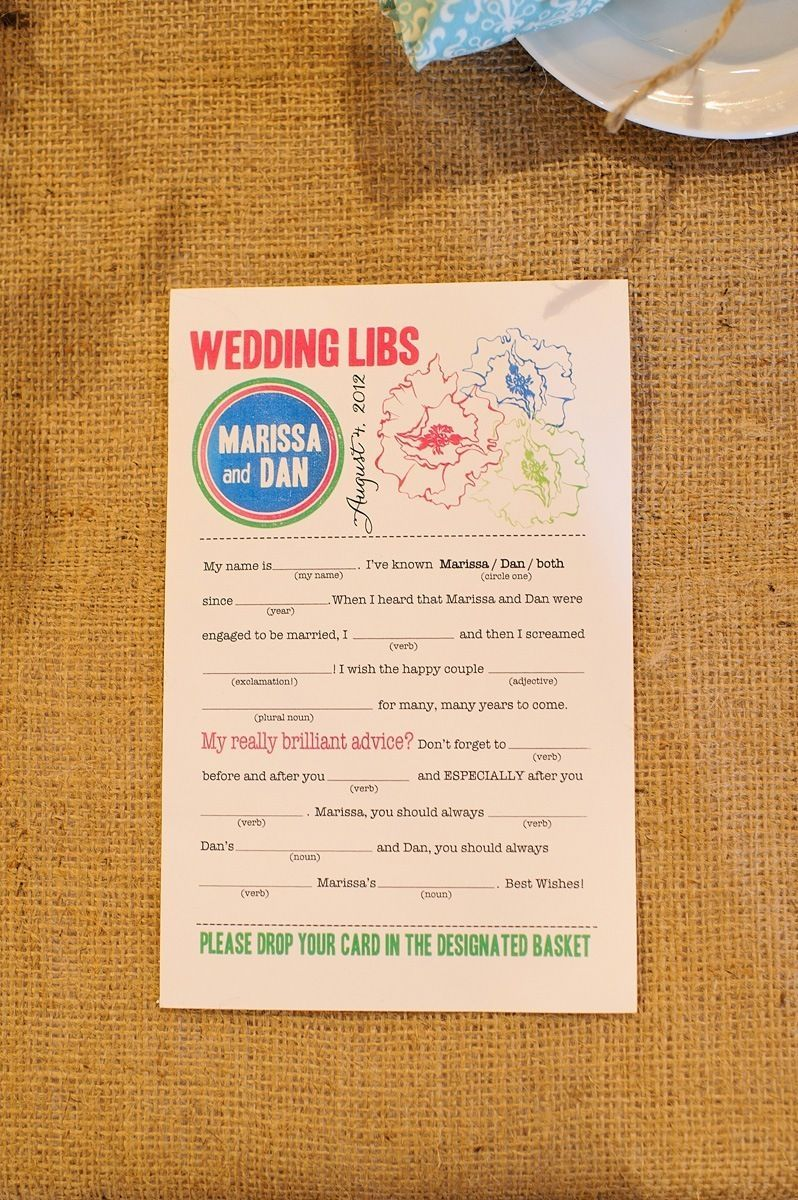 wedding libs