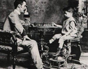 Хосе Рауль Капабланка маленький ребенок