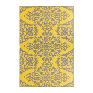 Wrought iron yellow