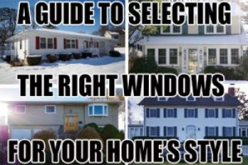 Selecting replacement windows for your home style