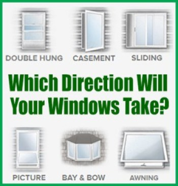Long Island Replacement Window Direction