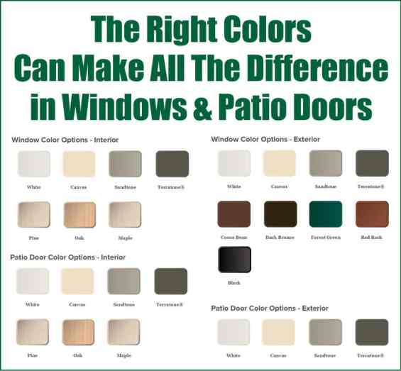 Long Island Replacement Windows Color