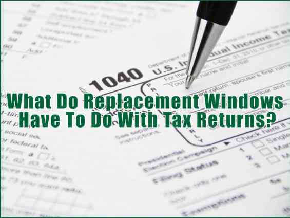 Long Island Replacement Window & Taxes