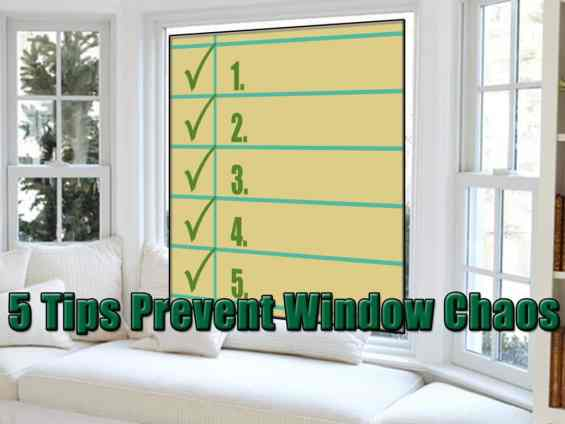 5 Tips to Prevent Replacement Window Catastrophes
