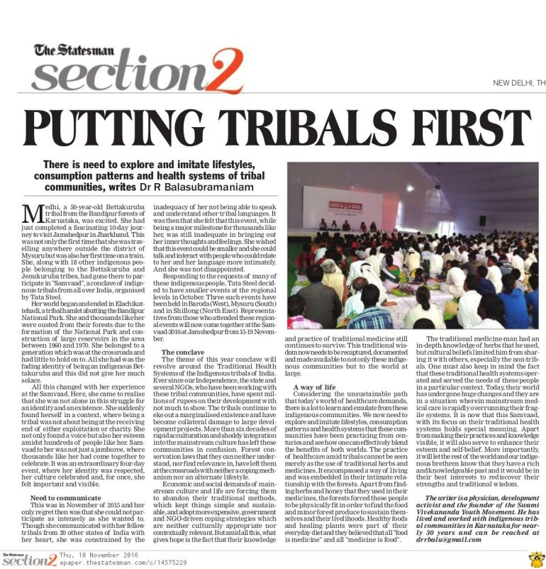 putting-tribals-first-statesman-nov-10-2016
