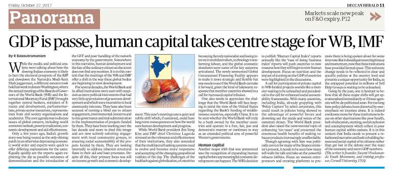 Deccan Herald Fri 27 10 17