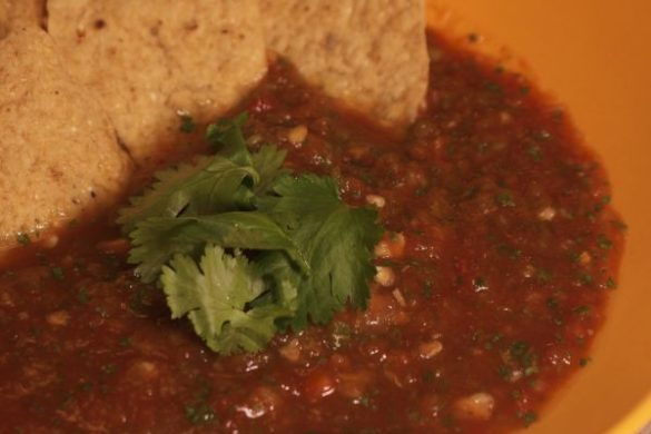how to make salsa