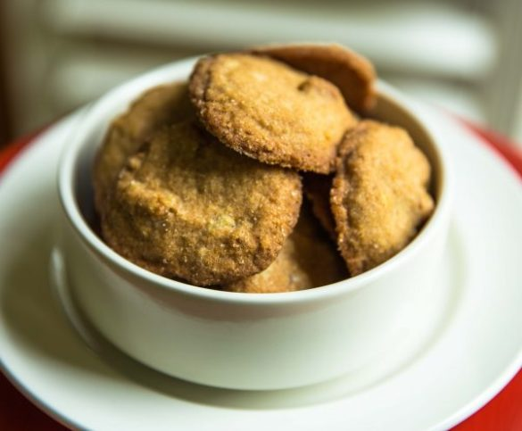 Nashville Butterscotch Cornmeal Cookies
