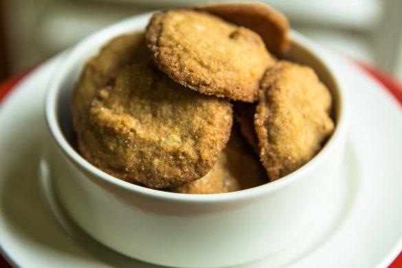 Nashville Butterscotch Cornmeal Cookies