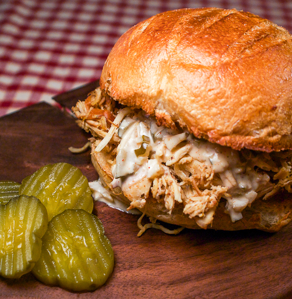pulled chicken bbq