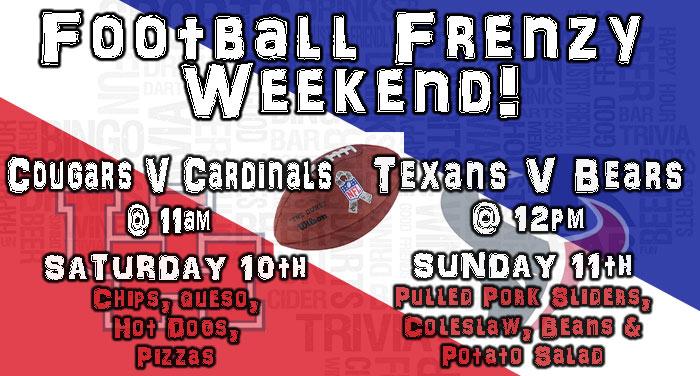 Football Frenzy Weekend