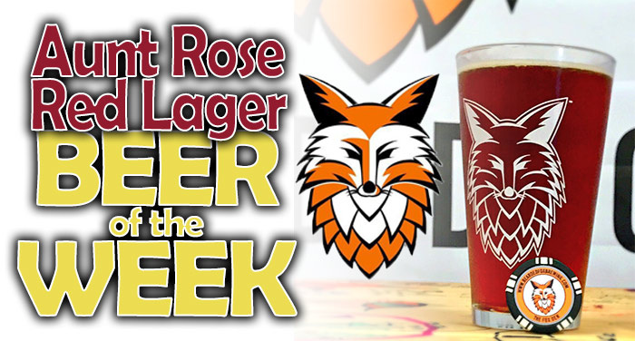 Aunt Rose Red Lager