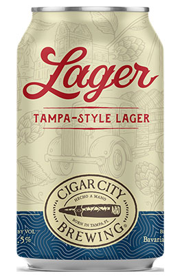 Cigar City Tampa Lager Can