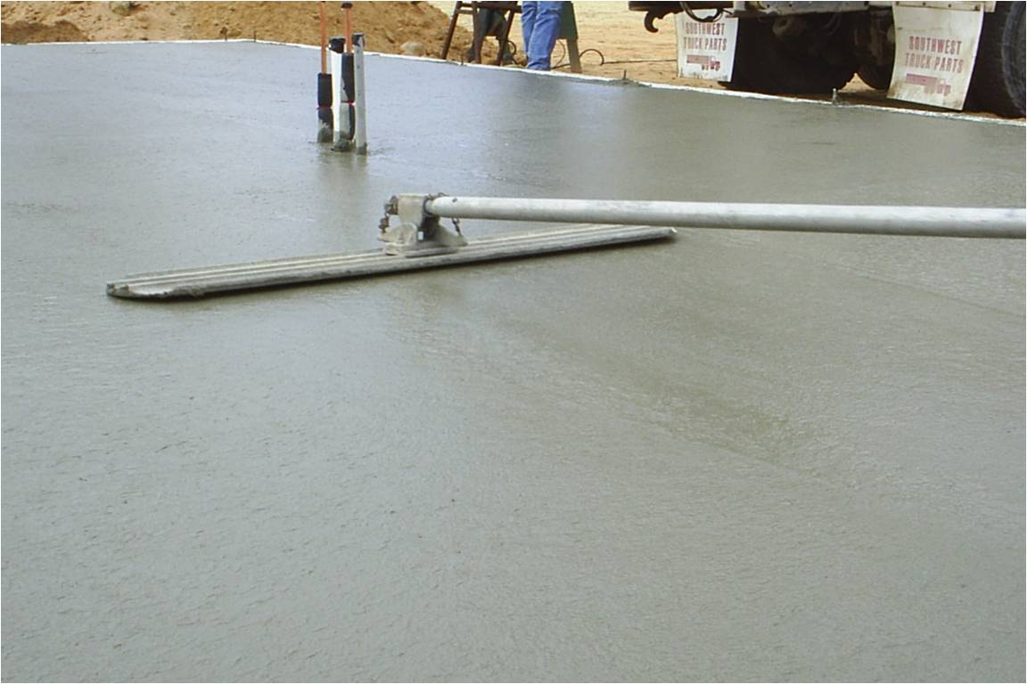 Performax concrete finishing