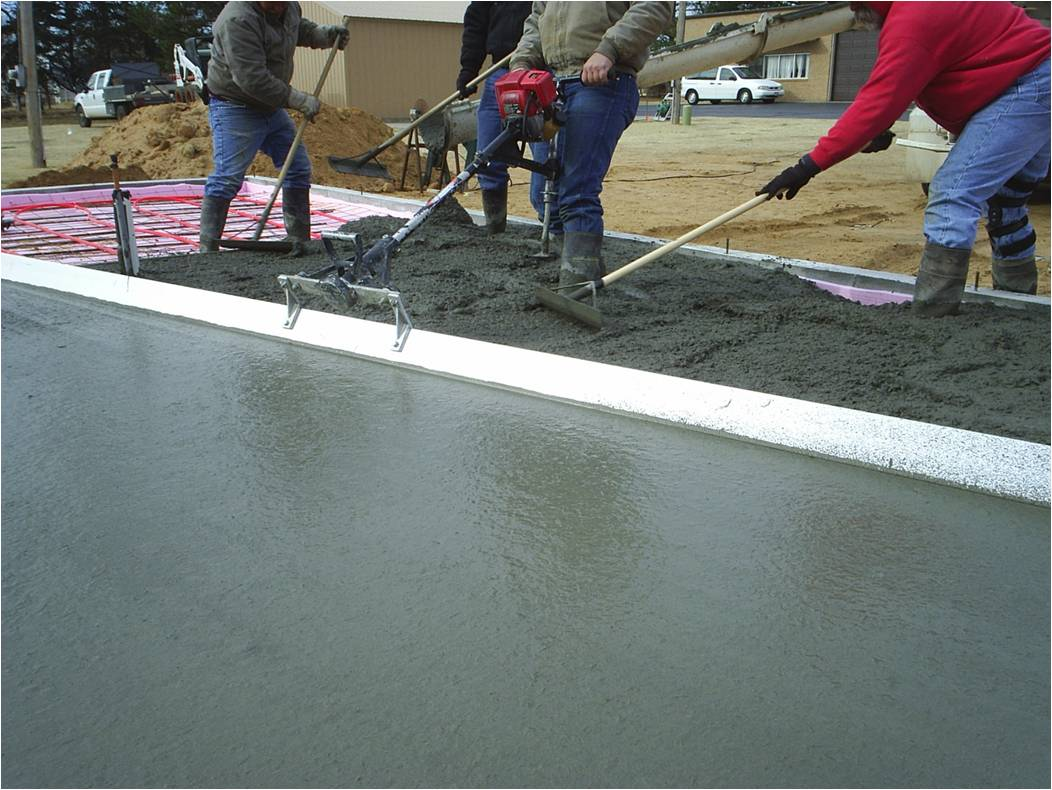 Performax concrete placing
