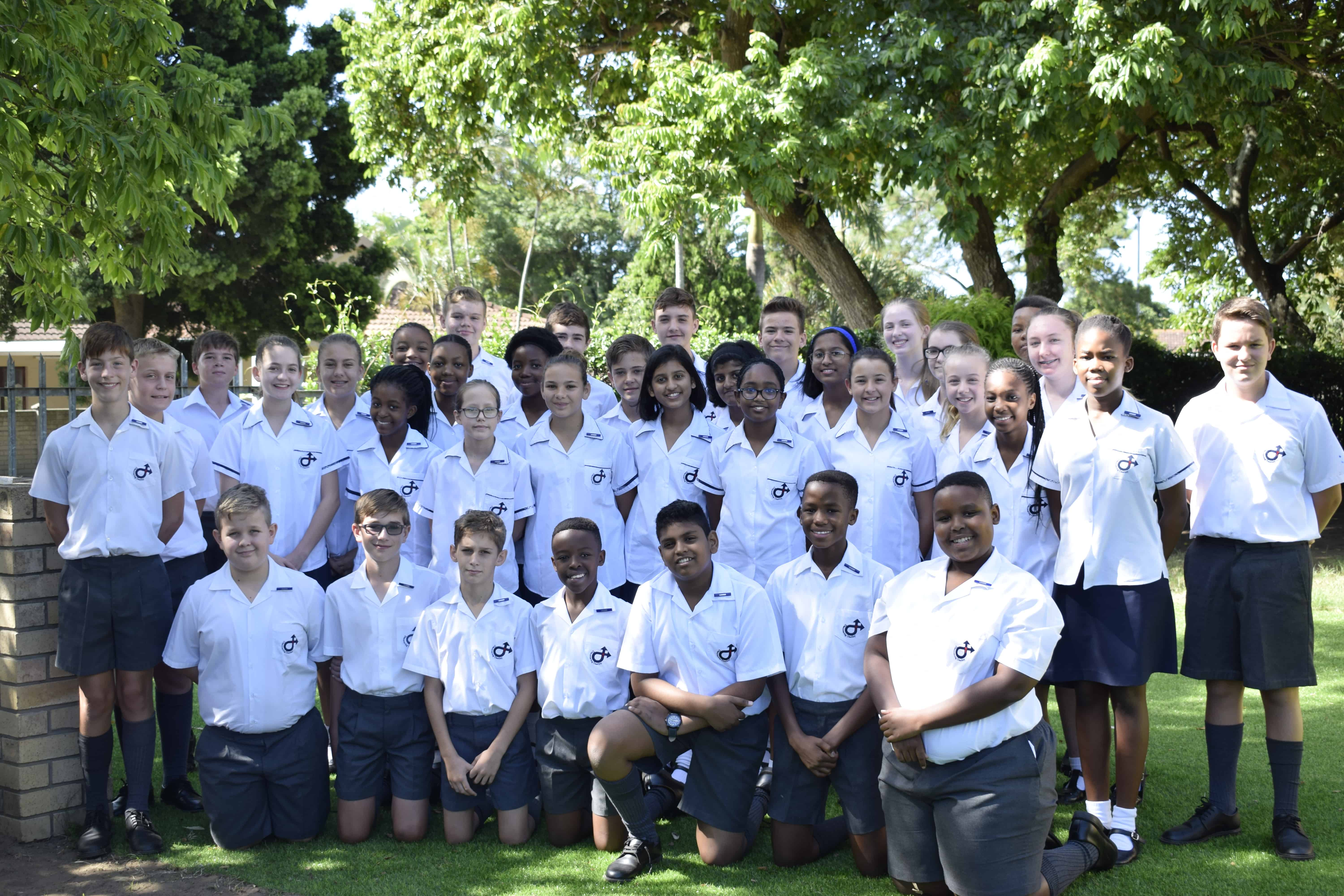 Richards Bay Christian School RBCS Grade 7 Leaders