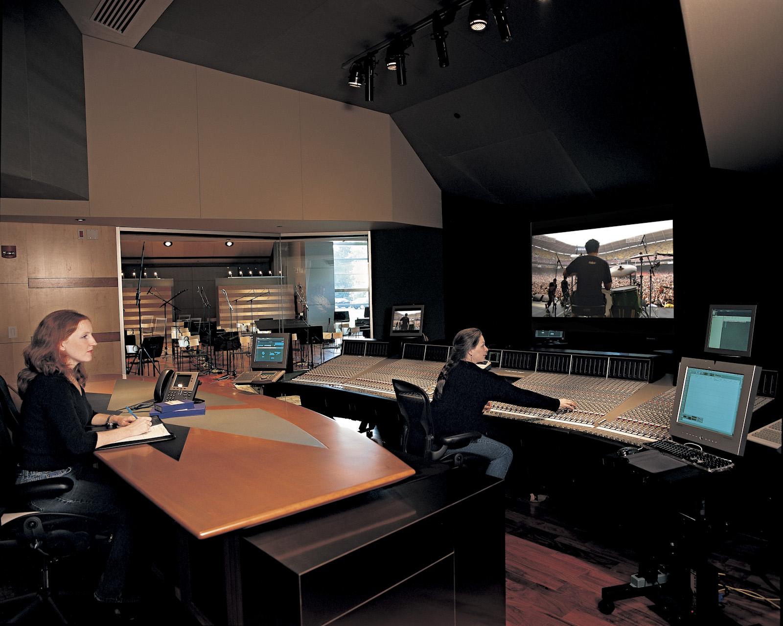 Nfl Films Russ Berger Design Group