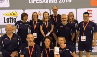 Dordtse Lifesaving Masters in de medailles op WK