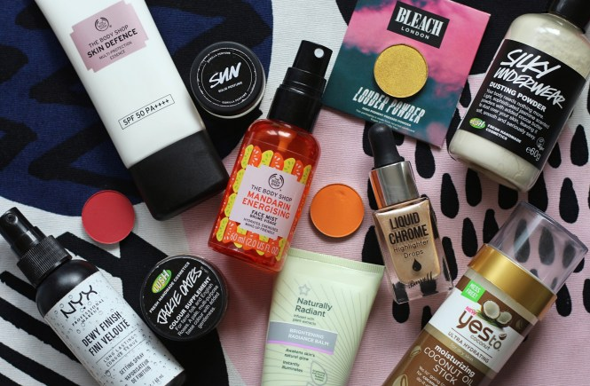 cruelty free summer essentials