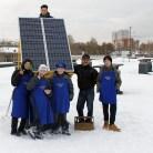 Ученики участники проекта Зимние сады Сибири