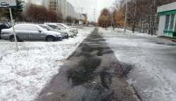 Состояние тротуаров в Советском районе признали удовлетворительным