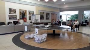 В двух районах Новосибирска проводятся электронные выборы в Госдуму