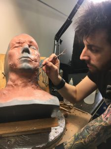 IMG 4273 225x300 - Joe Badiali sculpting a new design for RBFX