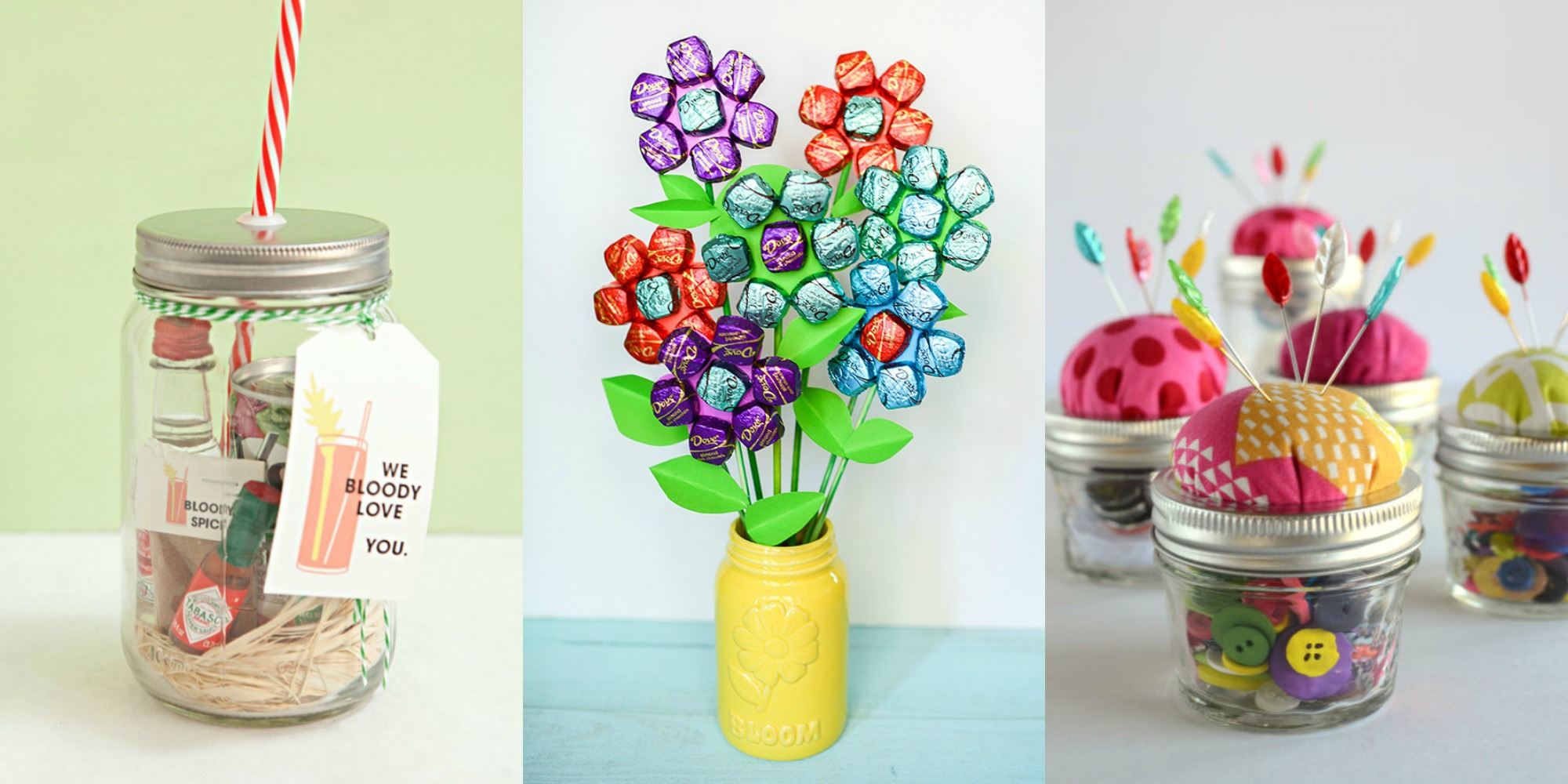 25 Mason Jar Presents For Mothers Day Mothers Day Gifts
