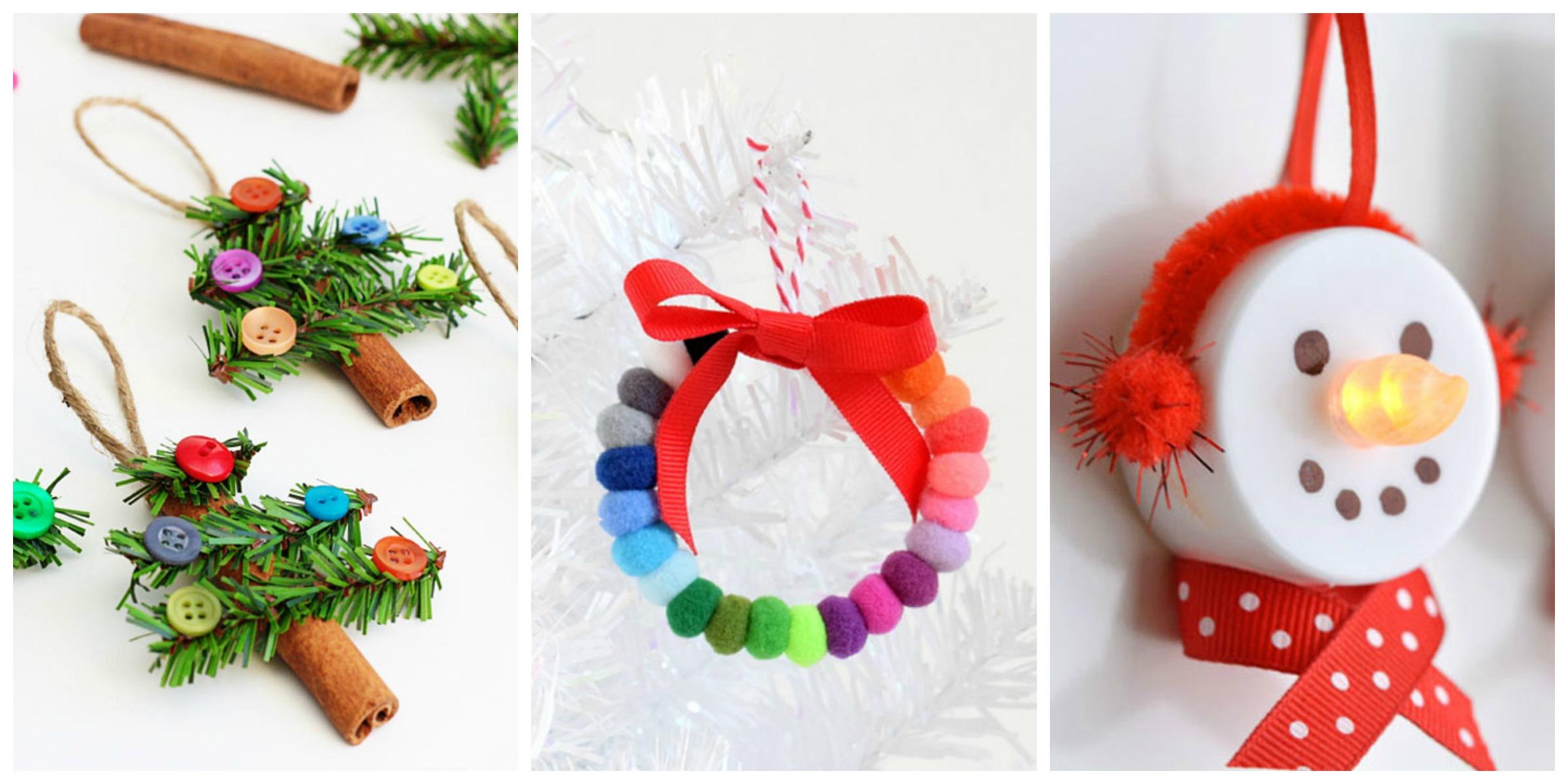 56 Unique DIY Christmas Ornaments