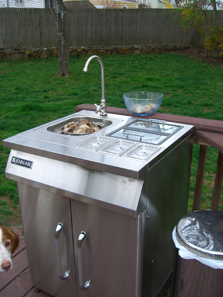 Outdoor Sink—and the Living's Easy on Outdoor Patio Sink id=46153