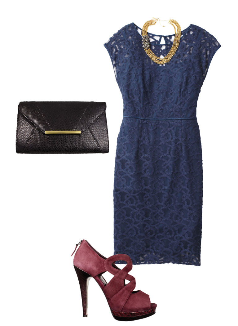 How To Wear A Lace Sheath Dress Outfit Ideas For A Lace