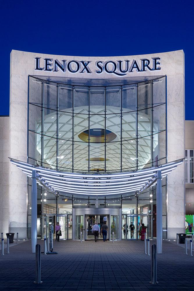 Lenox Square Randy Burkett Lighting Design