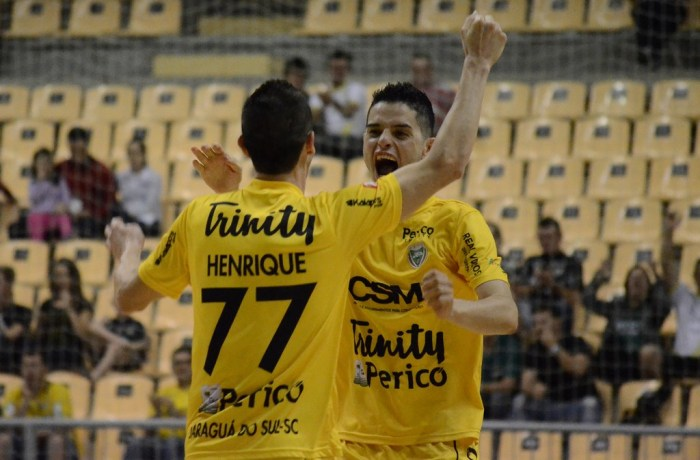 79bc8e45a6 Jaraguá Futsal vence Joaçaba e segue para as semifinais do Catarinense