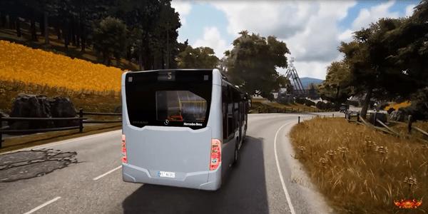 bus simulator 18 chega em 2019 no ps4 e xbox one game de. Black Bedroom Furniture Sets. Home Design Ideas