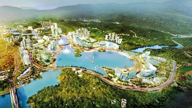 Phối cảnh Khu phức hợp có casino tại Vân Đồn, Quảng Ninh. Ảnh Báo Quảng Ninh