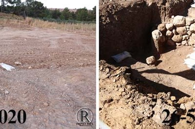 החפירות הארכיאולוגיות בבית שמש לפני ואחרי 1