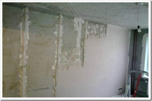 Как выровнять кривые стены и неровный пол в помещении