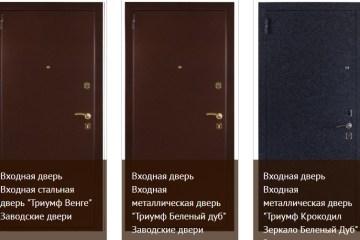 двери входные от производителя
