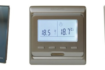 Thermostats for underfloor heating