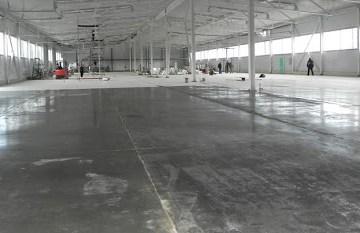 внешний вид застывшего бетона
