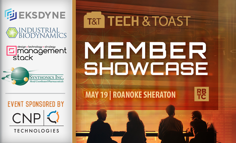 Tech and Toast: Member Showcase | May 19