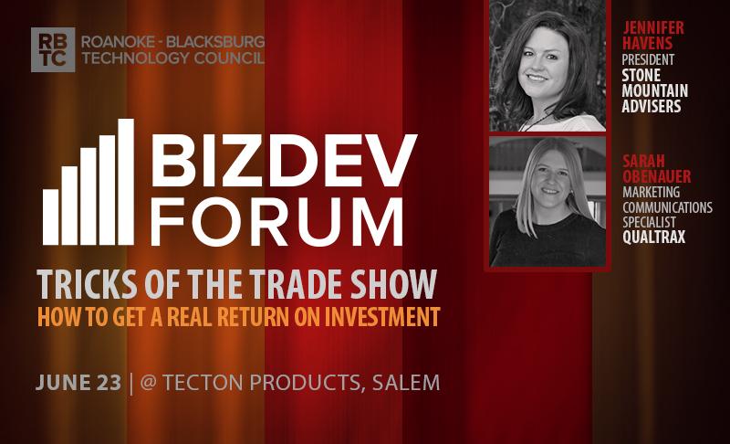 Business Development Forum: Tricks of the Trade Show –  June 23
