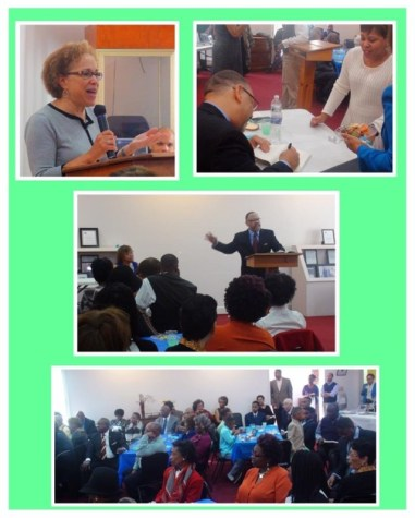 """Robert Williams at Lucy Laney Museum - Reading from """"Strivers and Other Stories"""" - February 2017"""
