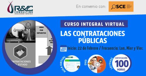 Las Contrataciones Publicas | OSCE | Curso Integral Virtual