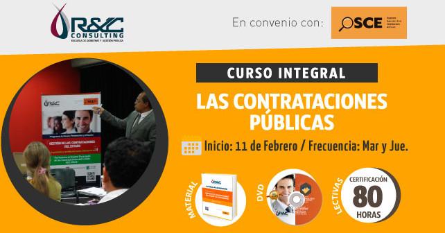 Las Contrataciones Publicas OSCE Curso Integral