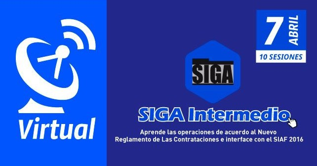 El SIGA Intermedio I Curso Virtual online