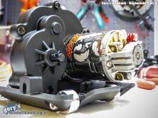 Verbaut wurde ein handgewickelter 45T brushed Motor von Tekin