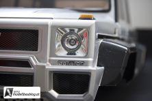 Blinker, Scheinwerfer, & Fernlicht können mit LED's bestückt werden.
