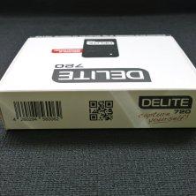 Actioncam DELITE 720HD - Verpackung Rückseite